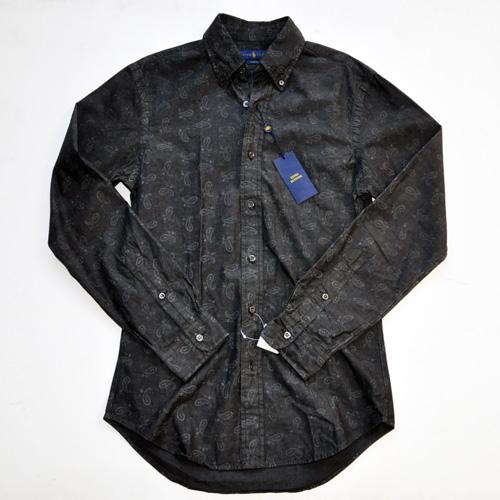 POLO RALPH LAUREN / ポロラルローレン 後染めペイズリーBDシャツ