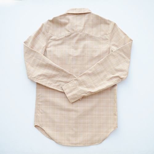 RRL/ダブルアールエル ウエスタンロングスリーブボタンシャツ-2