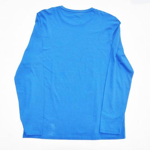 DKNY / ダナキャラン NEW YORK STATE 5Borough グラフィック L/S Tシャツ BIG SIZE ブルー - 1