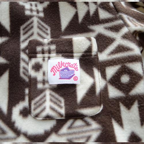 MILKRATE/ミルクレート フリースボタンシャツ - 3