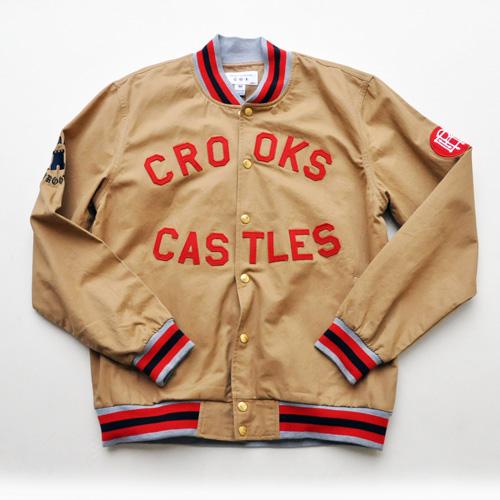 Crooks&Castles  /クルックスアンドキャッスルズ スプリングMA-1ジャケット