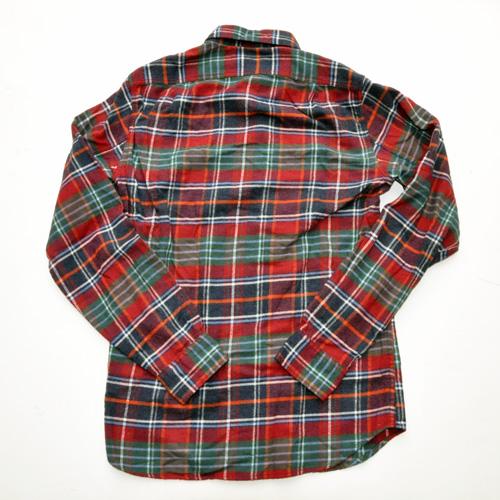 J.CREW/ジェイクルー ロングスリーブチェックフランネルシャツ レッド - 1