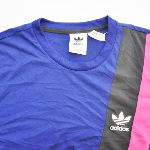 ADIDAS/アディダス カラー切り返しTシャツ BIG SIZE 海外限定モデル - 2