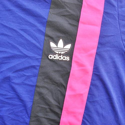 ADIDAS/アディダス カラー切り返しTシャツ BIG SIZE 海外限定モデル - 3