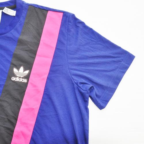 ADIDAS/アディダス カラー切り返しTシャツ BIG SIZE 海外限定モデル - 4