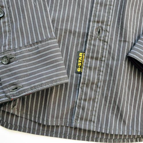 G-STAR Raw/ジースター ストライプボタンシャツ #2-6