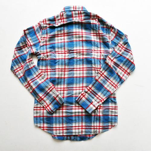 J.CREW / ジェイクルー ロングスリーブチェックシャツ ブルー×レッド - 1