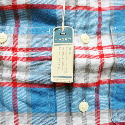 J.CREW / ジェイクルー ロングスリーブチェックシャツ ブルー×レッド - 3