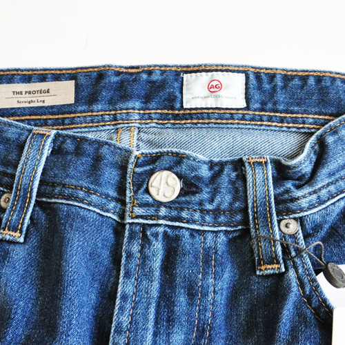 AG Adriano Goldschmied デニムパンツ The Protege Straight-Leg Jean - 5
