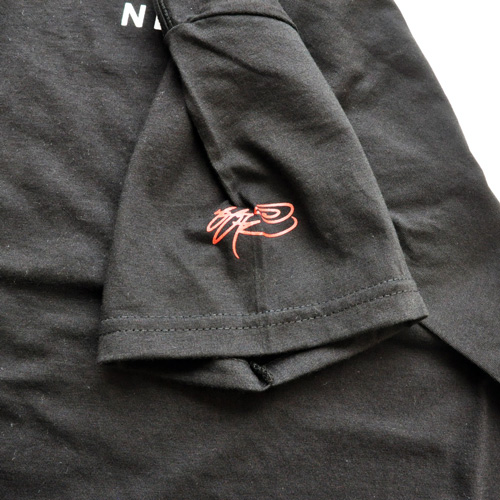 SSUR /サー フロントロゴプリントTシャツ ブラック - 2