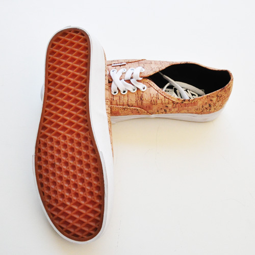 VANS AUTHENTIC (CORK) TAN/TRUE WHITE-4