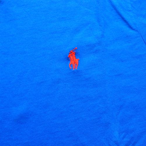 RALPH LAUREN/ラルフローレン 1ポイントポニーVネックTシャツ New York Metsカラー - 2