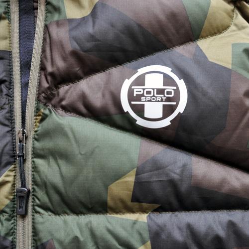 POLO SPORT / ポロスポーツ ダウンベスト カモフラージュ - 3