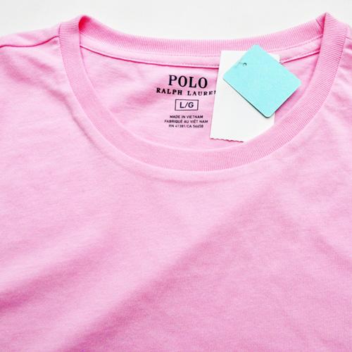 POLO RALPH LAUREN/ラルフローレン 1ポイントポニーTシャツ ピンク-3
