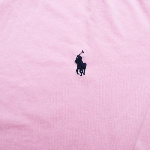 POLO RALPH LAUREN/ラルフローレン 1ポイントポニーTシャツ ピンク-4