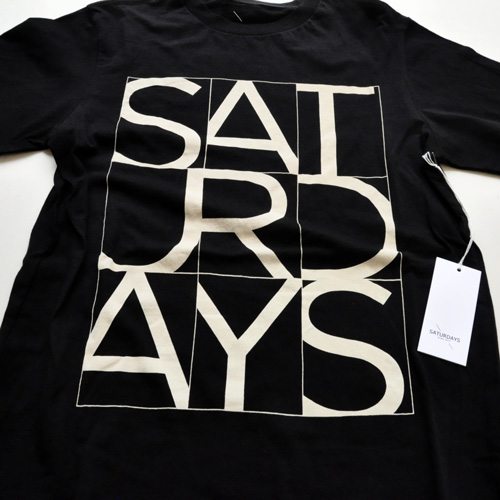 SATURDAYS SURF NYC/サタデェーズサーフ フロントプリントTシャツ-3