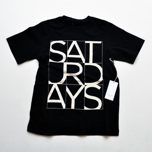 SATURDAYS SURF NYC/サタデェーズサーフ フロントプリントTシャツ - 3