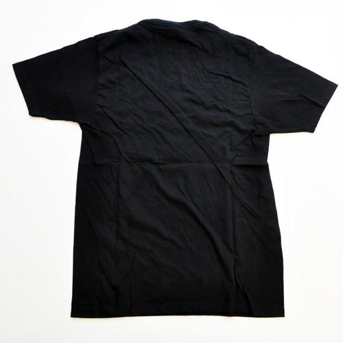 ZOO YORK/ズーヨーク  フロント半袖Tシャツ ブラック - 1