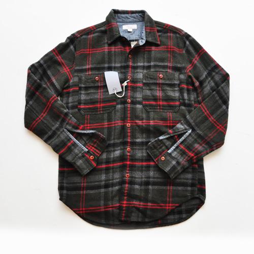 WALLACE & BARNES/ウォレスアンドバーンズ フランネルボタンシャツ