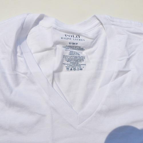 RALPH LAUREN/ラルフローレン 1ポイントポニーVネックTシャツ ホワイト - 2