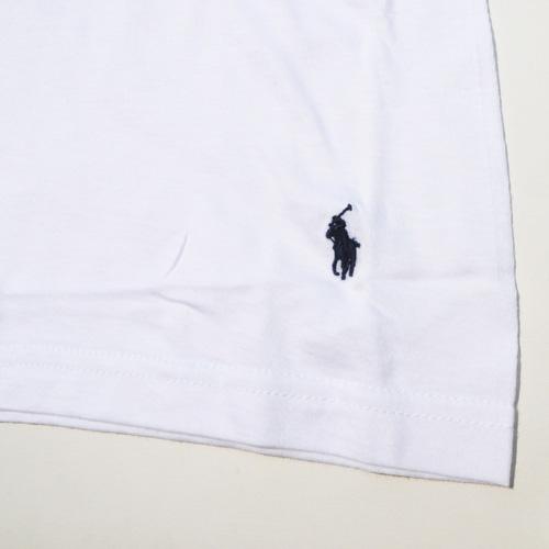 RALPH LAUREN/ラルフローレン 1ポイントポニーVネックTシャツ ホワイト - 3