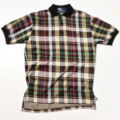 RALPH LAUREN/ラルフローレン 半袖ブラックウォッチポロシャツ  vintage