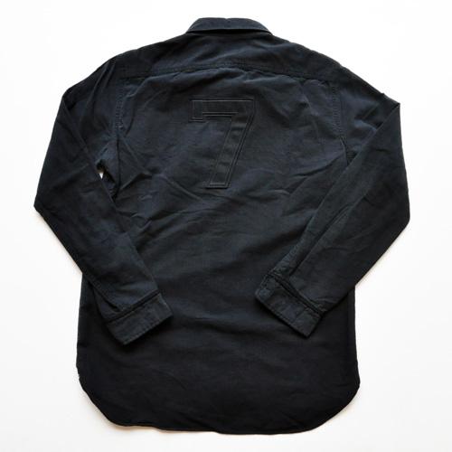 RALPH LAUREN/ラルフローレン ベースボールボタンシャツ ブラック-2