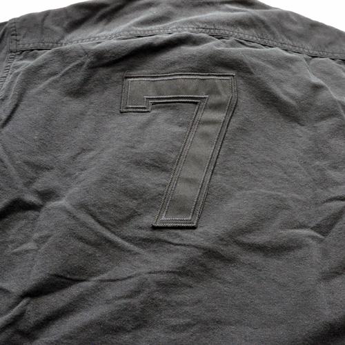 RALPH LAUREN/ラルフローレン ベースボールボタンシャツ ブラック-5