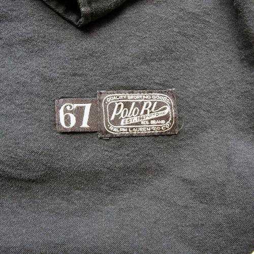 RALPH LAUREN/ラルフローレン ベースボールボタンシャツ ブラック-6