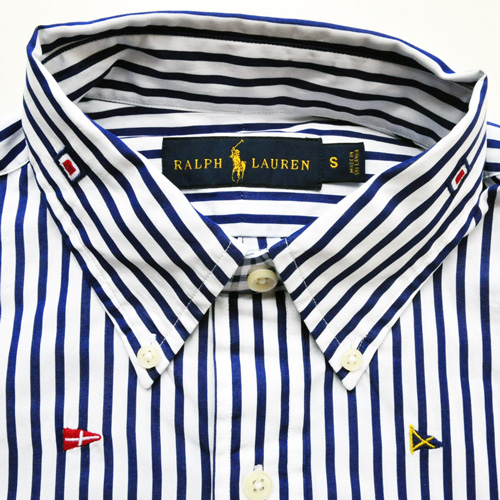 POLO RALPH LAUREN/ラルフローレン フラッグモノグラムシャツ - 2