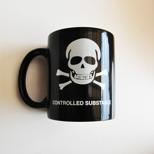 SSUR/サー SSURロゴマグカップ ブラック - 1