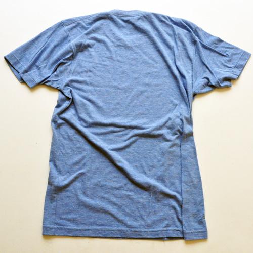 WEST NYC フロントプリントロゴ半袖Tシャツ ブルー - 1