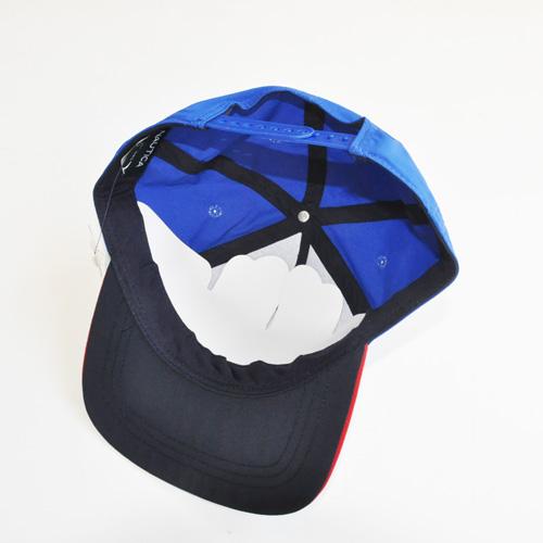 NAUTICA / ノーティカ 5パネル SNAPBACK キャップ ブルー-2