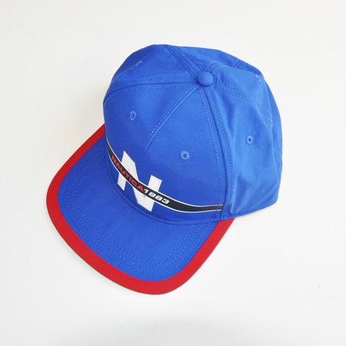 NAUTICA / ノーティカ 5パネル SNAPBACK キャップ ブルー - 2