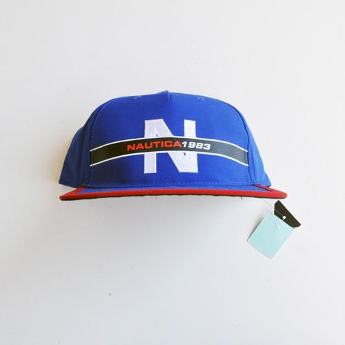 NAUTICA / ノーティカ 5パネル SNAPBACK キャップ ブルー