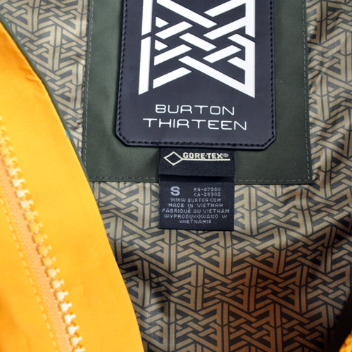 BURTON THIRTEEN / バートンサーティーン BRIGANTI JACKET GORE-TEX - 5