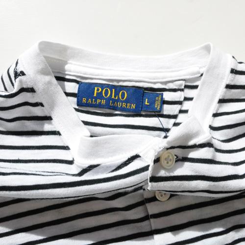 POLO RALPH LAUREN/ラルフローレン ロングスリーブヘンリーボーダーTシャツ - 2