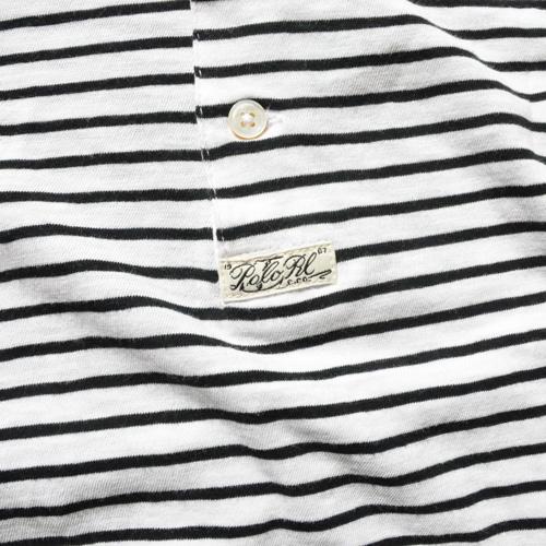 POLO RALPH LAUREN/ラルフローレン ロングスリーブヘンリーボーダーTシャツ - 3
