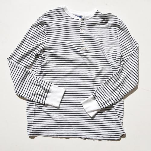 POLO RALPH LAUREN/ラルフローレン ロングスリーブヘンリーボーダーTシャツ