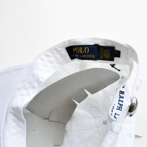 POLO RALPH LAUREN/ラルフローレン  US FLAG CAP (WHITE) - 3