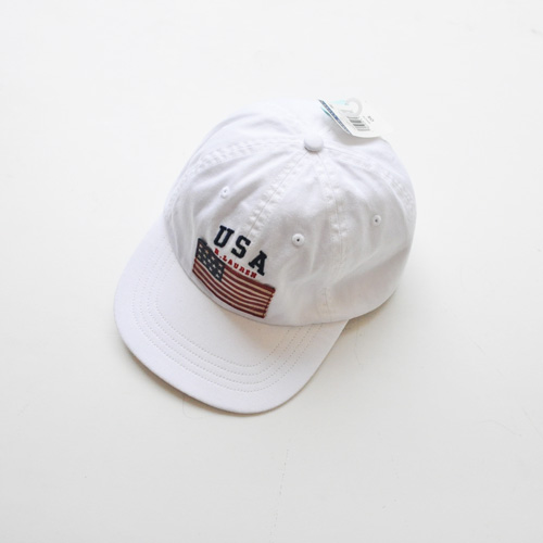 POLO RALPH LAUREN/ラルフローレン  US FLAG CAP (WHITE)