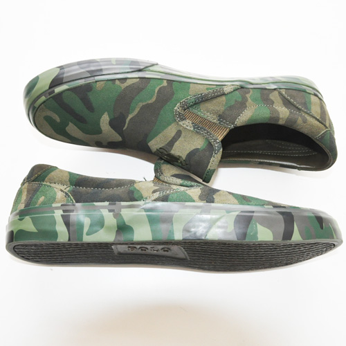 POLO RALPH LAUREN/ポロ ラルフローレン  OLIVE CAMO SILKY SUEDE SLIP ON-2