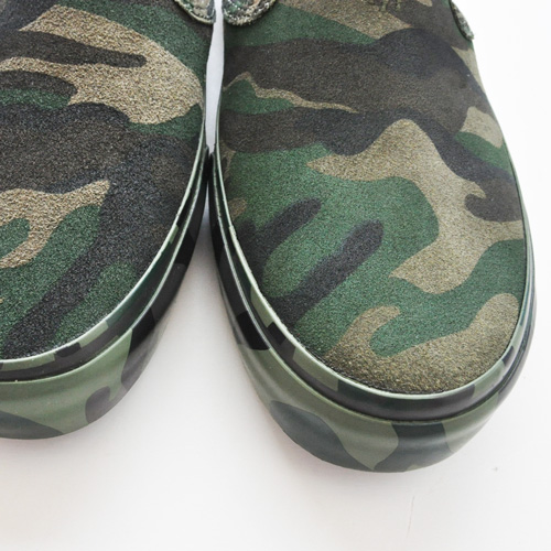 POLO RALPH LAUREN/ポロ ラルフローレン  OLIVE CAMO SILKY SUEDE SLIP ON-7
