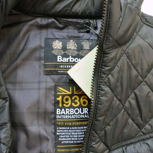 Barbour / バブアー キルティングジャケット ブラック - 3