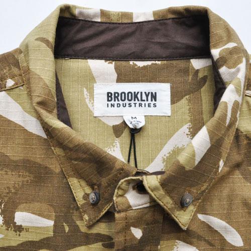 BROOKLYN INDUSTRIES / ブルックリンインダストリーズ ミリタリー L/S シャツ - 4