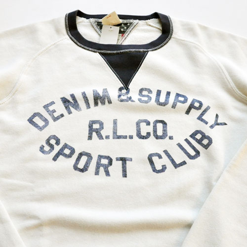 DENIM & SUPPLY / デニムアンドサプライ ラグランクルーネック-3