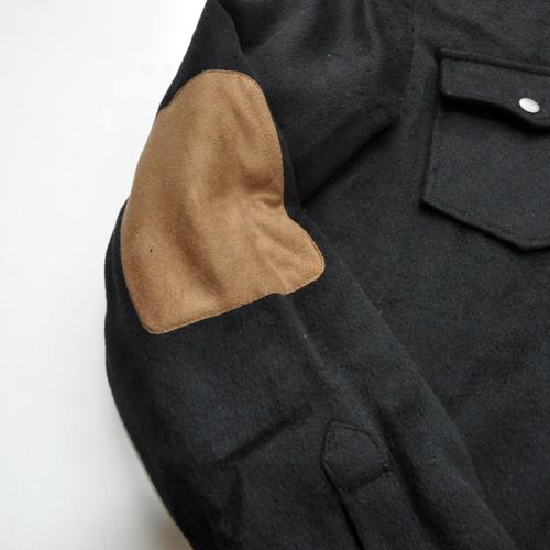 AMERICAN RAG CIE / アメリカンラグシー シャツジャケット ブラック - 3