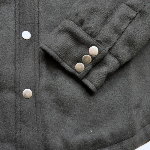 AMERICAN RAG CIE / アメリカンラグシー シャツジャケット ブラック - 4