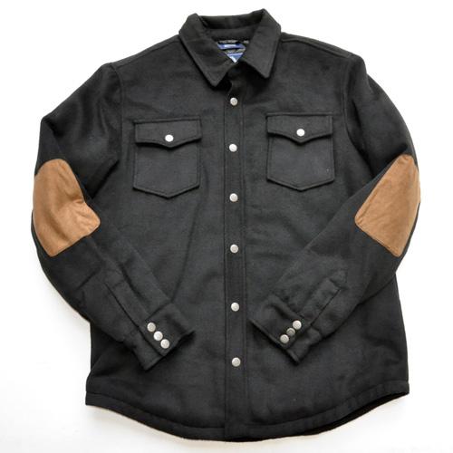 AMERICAN RAG CIE / アメリカンラグシー シャツジャケット ブラック