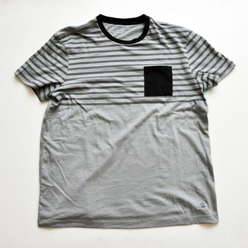 Calvin Klein / カルバンクライン ボーダーポケットTシャツ